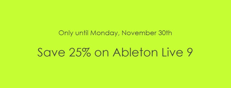 flashsale25ableton