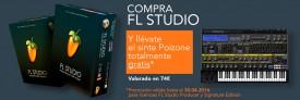 Compra FL Studio y llévate el sinte Poizone totalmente gratis