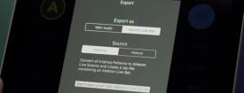 Exportar como proyecto de Ableton Live desde iOS