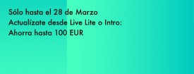 Actualízate a Ableton Live Suite o Standard y ahorra hasta 100 euros