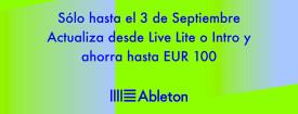 Ahorra hasta 100 euros al actualizar desde Live Lite o Intro