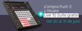 Compra Push 2 y lleváte Live 10 Suite gratis