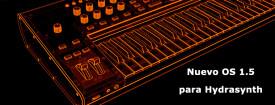 Ashun Sound Machines lanza OS 1.5 para Hydrasynth