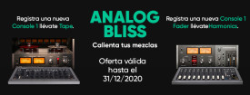 Softube lanza la promo Analog Bliss