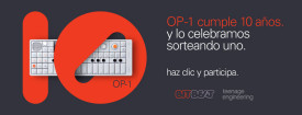 OP-1 de Teenage Engineering cumple 10 años