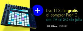 Promo Live 11 Suite gratis al comprar Push 2